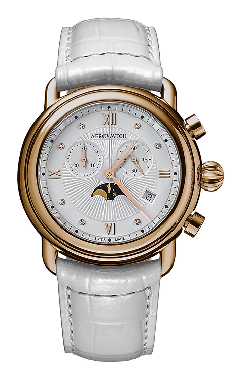 Aérowatch - Chronographe Phase de Lune Quartz