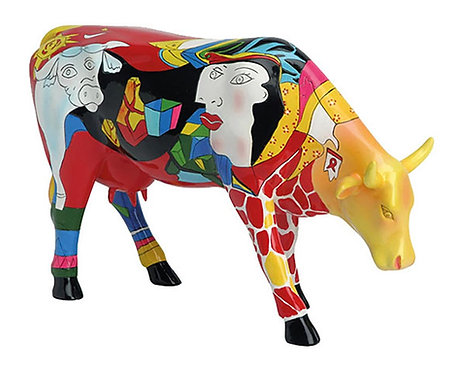CowParade - 46357 Homage to Picowso's African Period