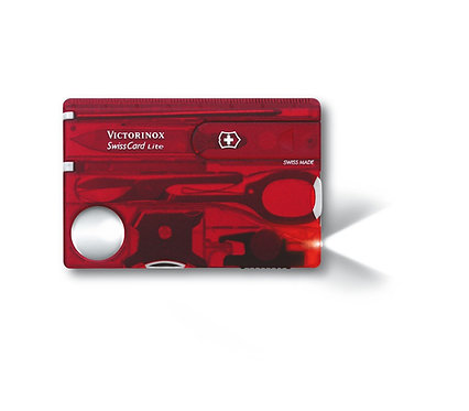 SwissCard Lite Red
