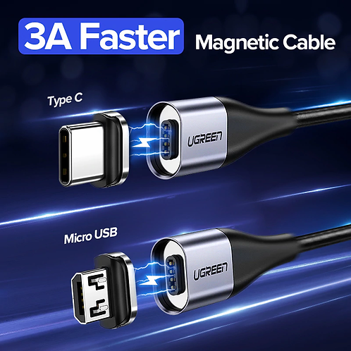 UGREEN - 3A Magnetic Cable