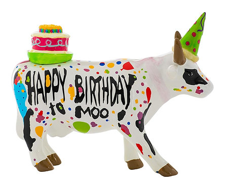 CowParade - 47331 Happy Birthday To Moo!