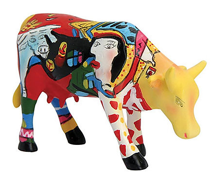 CowParade - 46363 Hommage to Picowso's African Period