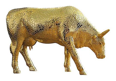 CowParade - 46468 Mira Moo Gold