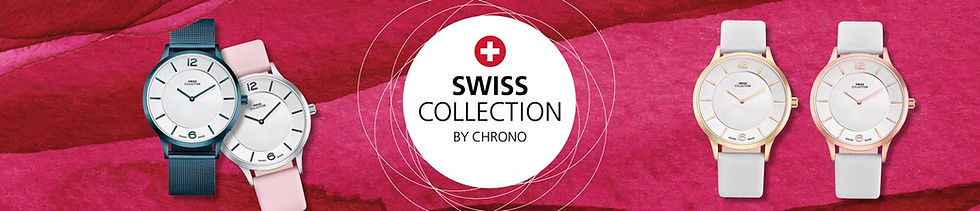 Swiss Collection watch banner