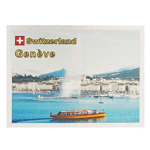 Magnet Yellow Geneva Boat Alu