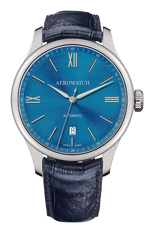 Aerowatch - Gent Automatic Blue