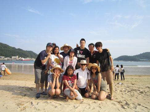 2011 Summer workshop in 남해