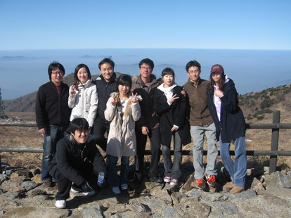 2009 Winter workshop in 지리산
