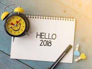 Hello to 2018