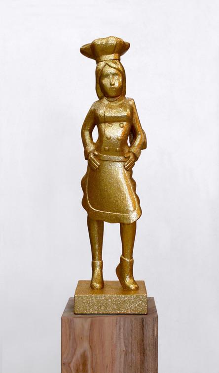 statue of girl's dream