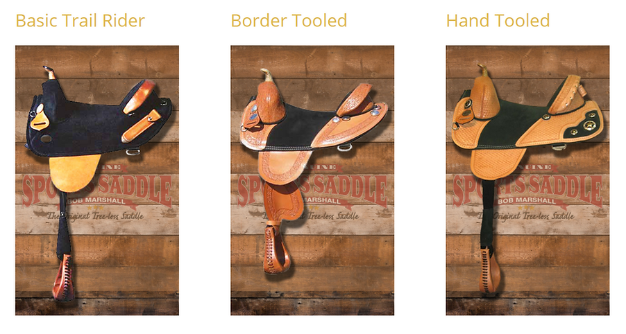 Bob Marshall Trail Rider Saddles for Sale