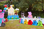 sydney peppa pig dessert table candy bar party cutout abc