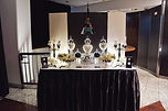 sydney paris inspired dessert table candy bar black centre point tower
