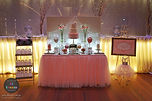 sydney white party chairs decor lights backdrop balloons