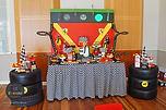 sydney Ferrari Racing dessert table candy bar
