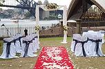 sydney elegant fresh ceremony wedding harbour bridge opera house