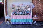 butterfly garden dessert table candy bar ombre girly cute