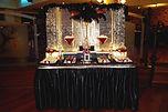 sydney great gatsby dessert table candy bar