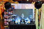 sydney sparkling lights dessert table candy bar glitter bright