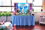 princess and pirates dessert table candy bar