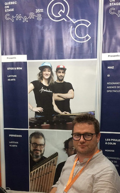 Eoin at WOMEX 2018
