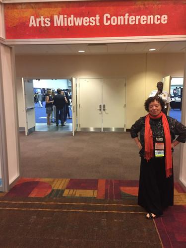 Barbara at Arts Midwest 2018