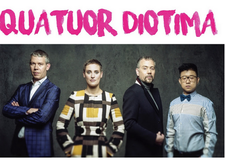 The Diotima Quartet starts its 2018-2019 season