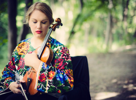 Carissa Klopoushak wins a violin from the  Canada Council for the Arts