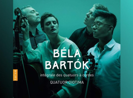 The Quatuor Diotima's new CD gets a glowing review!