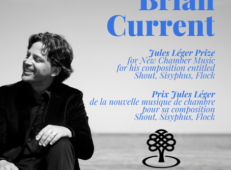 Brian Current honoured by the Canada Council for the Arts