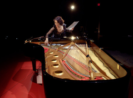 Eve Egoyan : SOLO FOR DUET is on national tour