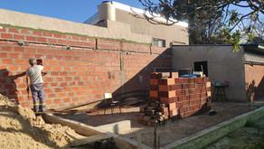 ¡Construcción del nuevo espacio terapéutico!