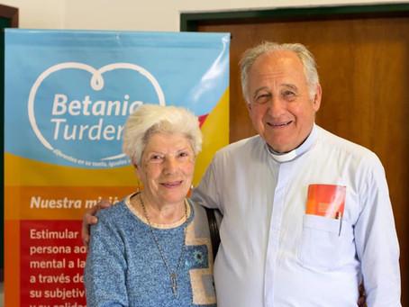 Pura Abad, fundadora de Betania, siempre en nuestro corazón