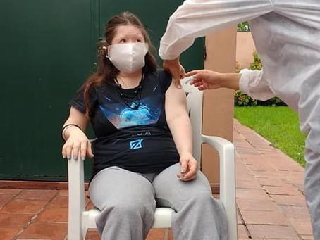 1.ª dosis de la vacuna contra el Covid