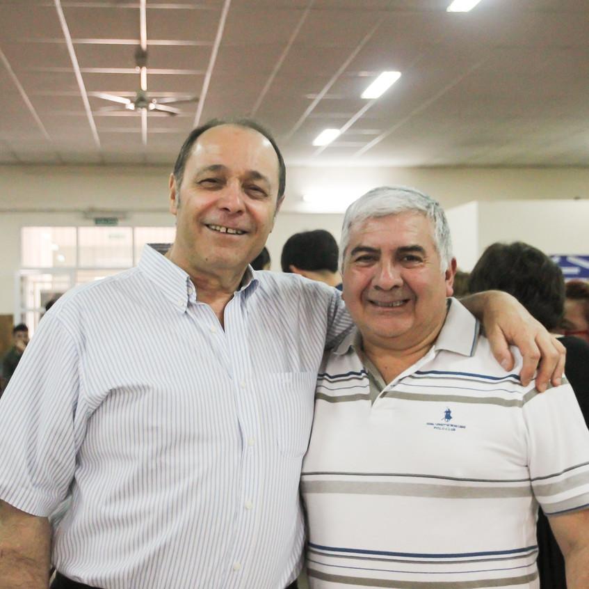 Oscar Fossati y Ángel Cruz Lobo
