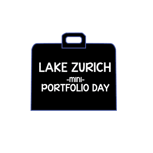 Lake Zurich Mini Portfolio Day Logo circ