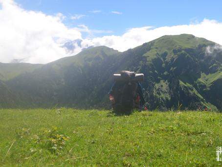 Exploring Bagchi Bugyal trek