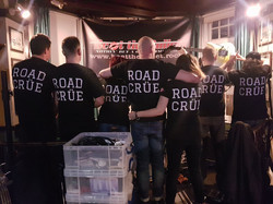 Our most excellent roadies!