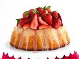 Strawberry w/ Strawberry Glaze