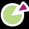 Pie Chart Graphic Design logo - small