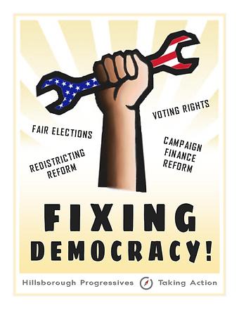 poster - fixing democracy