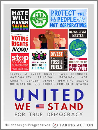 poster - united we stand