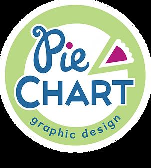 Pie Chart Graphic Design logo
