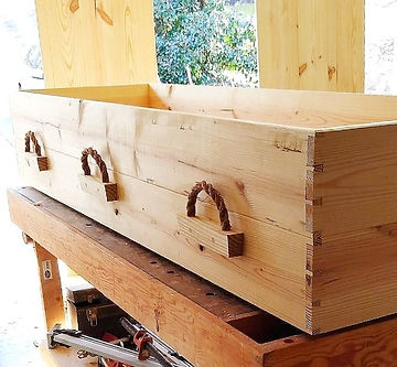 biodegradable casket