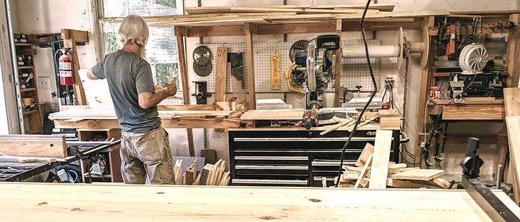 Aldergrove Woodworks shop interior