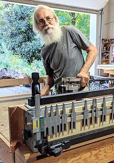 Aldergrove Woodwork's primary craftsperson John Jull.jpg