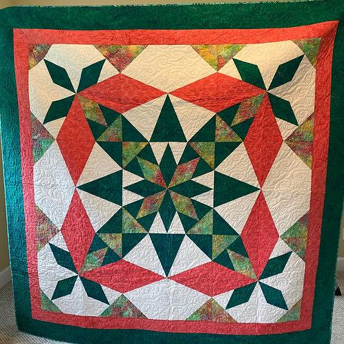 Mint Green Back: Kaleidoscope