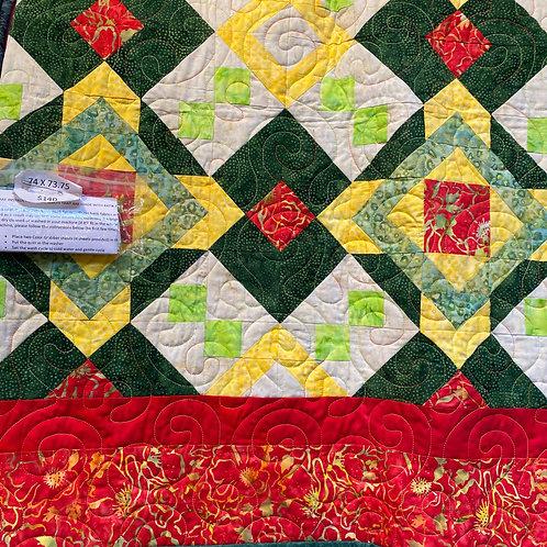 Batik Red/Yellow/Green