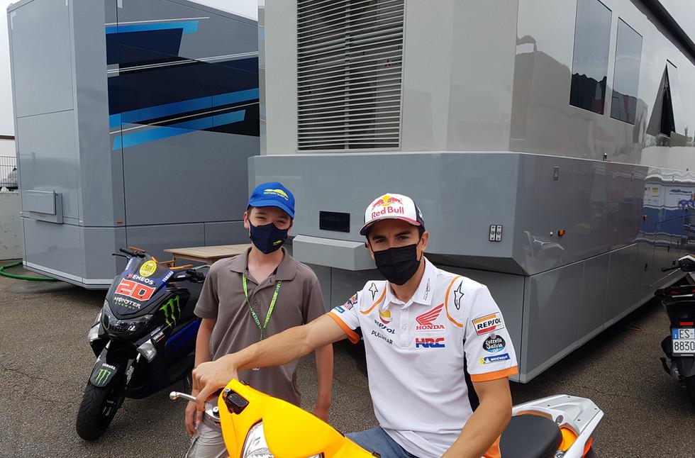 Valentino und Marc Marquez 2021