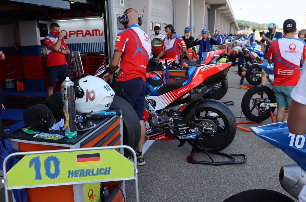 NTC Sachsenring 2021 mit Johann Zarco